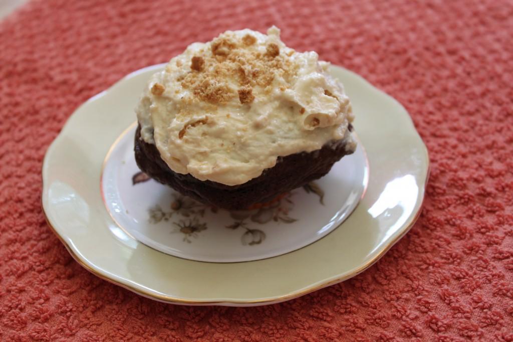 Choc Orange Cheesecake Muffin