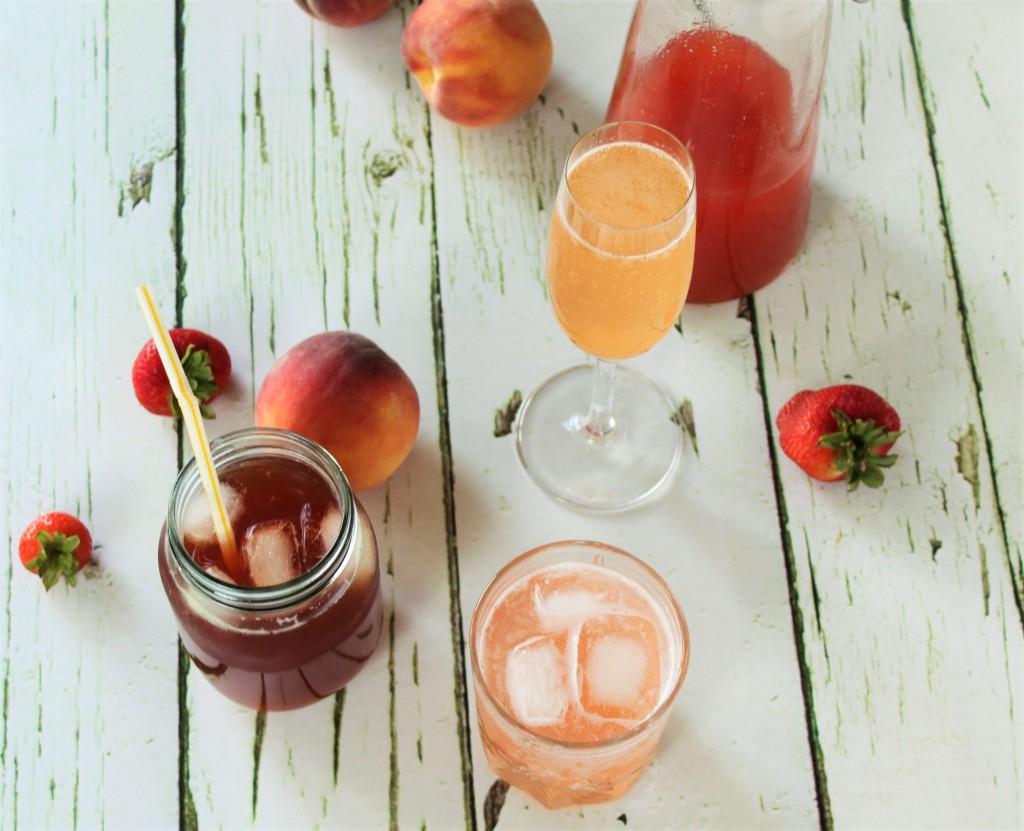 Strawberry Peach Cordial