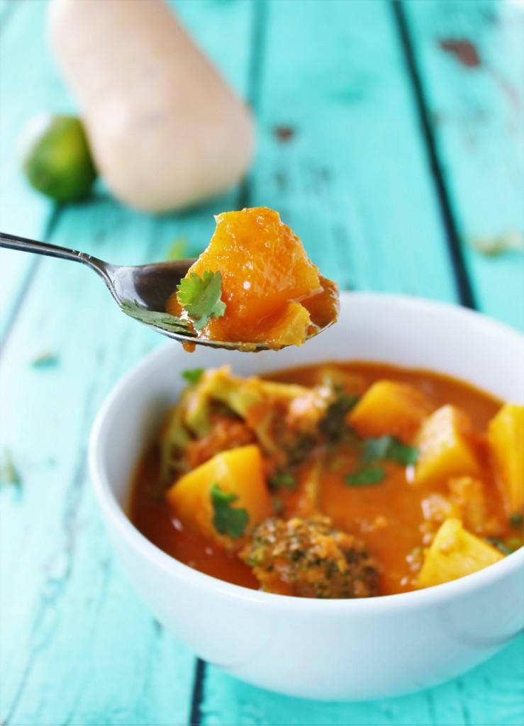 Coconut Butternut Squash Curry