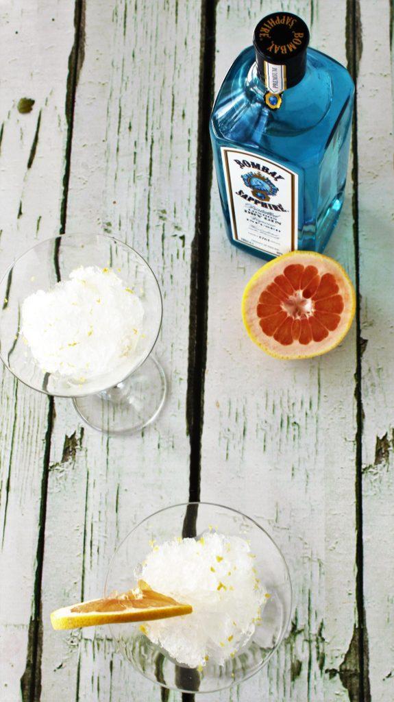 gin and tonic slushie